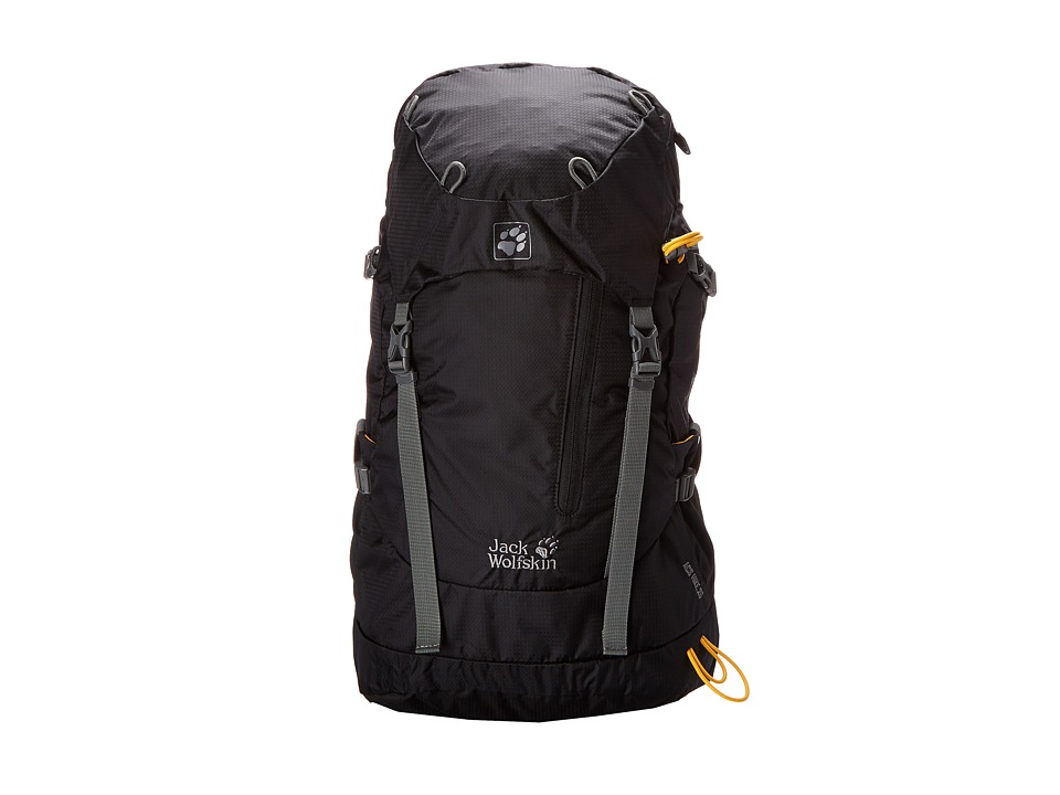 Jack Wolfskin ACS Hike 26 Pack Black Backpack Bags