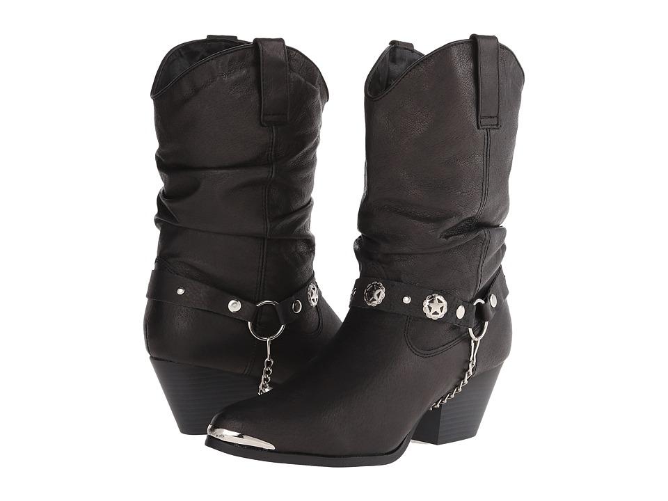 Dingo Olivia (Black) Western Boots