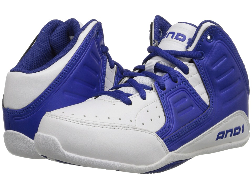 AND1 Kids Rocket 4 Little Kid/Big Kid White/Blue/White Boys Shoes