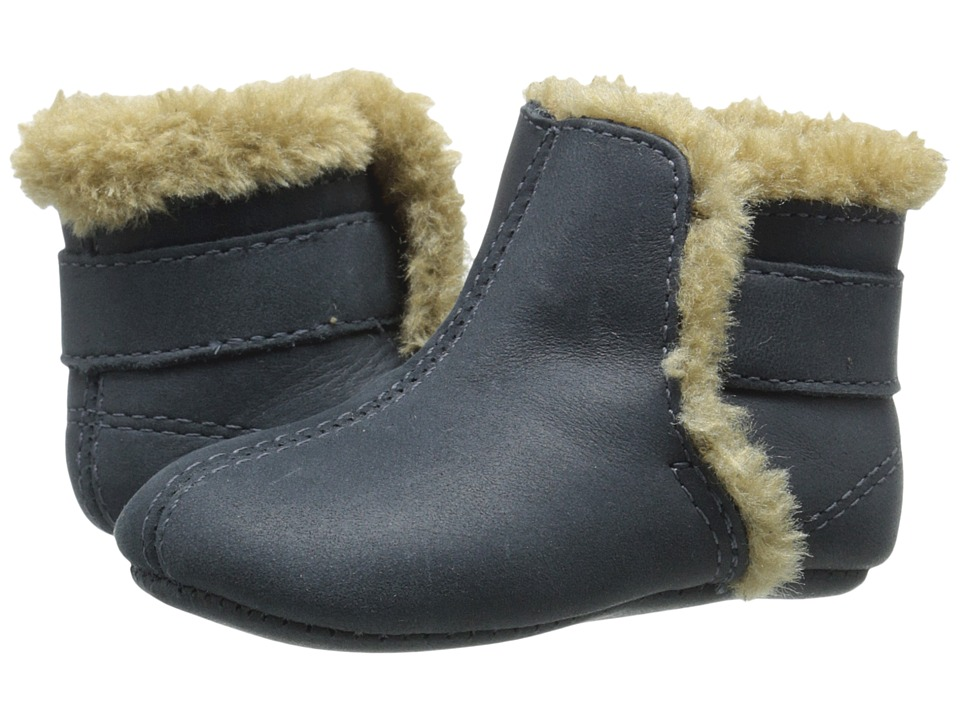Old Soles Polar Boot Infant/Toddler Distressed Navy Kids Shoes