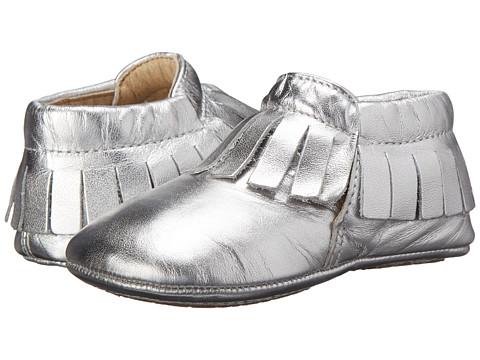 Old Soles Fringe Boot (Infant/Toddler) - Silver