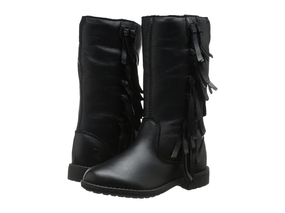 Old Soles Long Island Toddler/Little Kid Black Girls Shoes