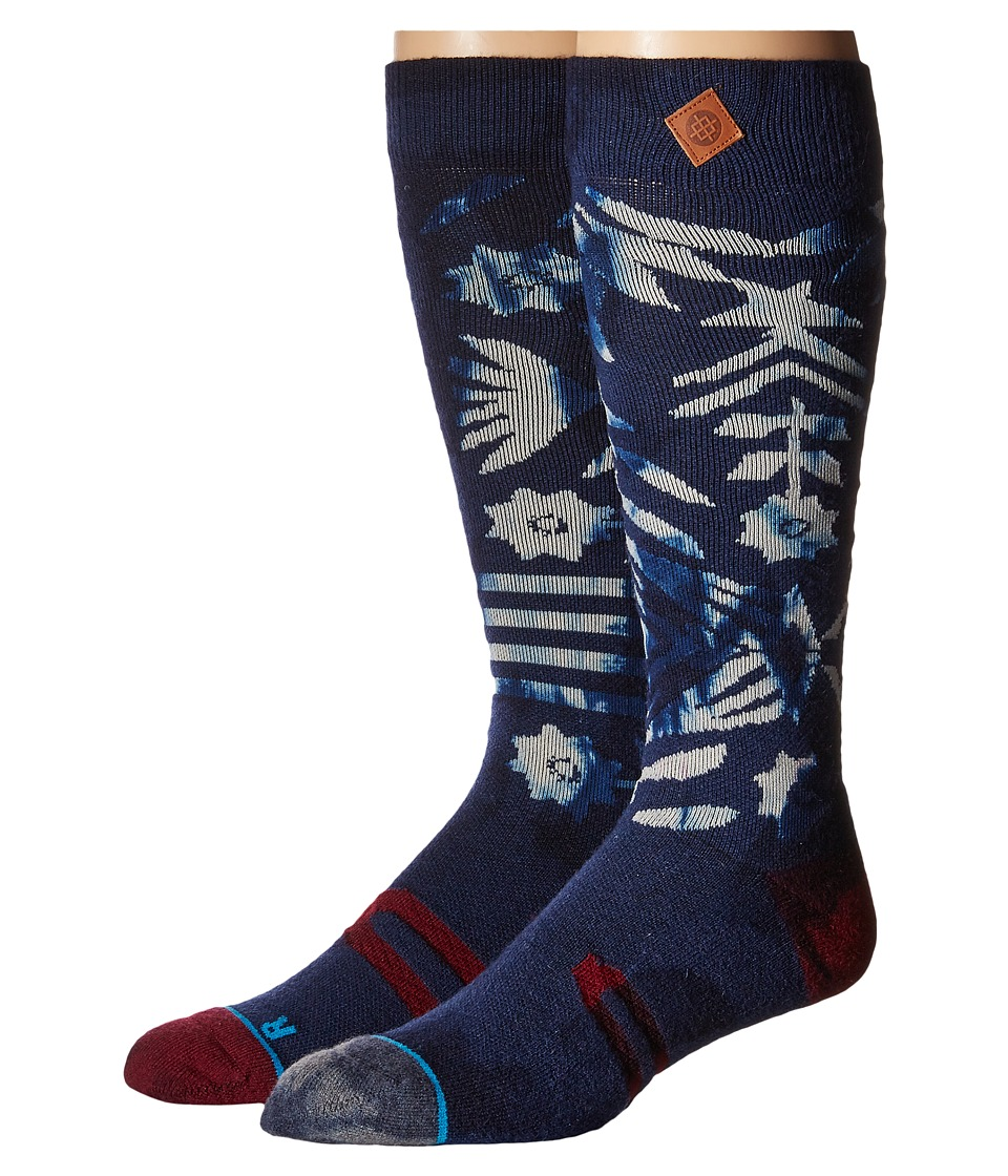 Stance A Tribe Called Shred Navy Mens Crew Cut Socks Shoes