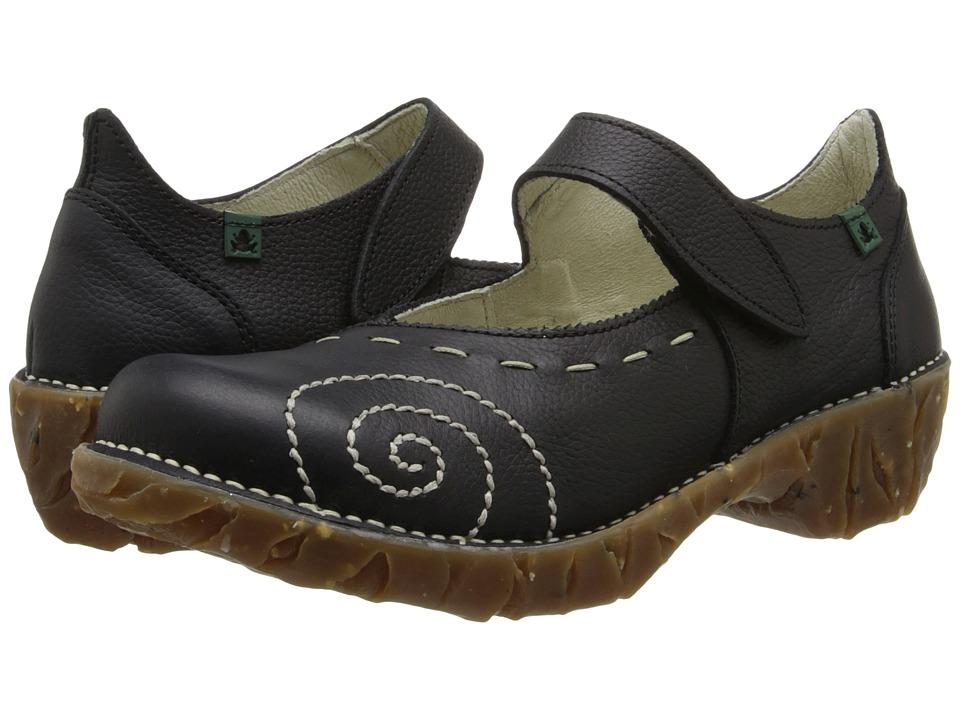 El Naturalista Yggdrasil N095 (Black 2) Maryjane Shoes