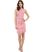 Calvin Klein - Patterned Sheath Dress