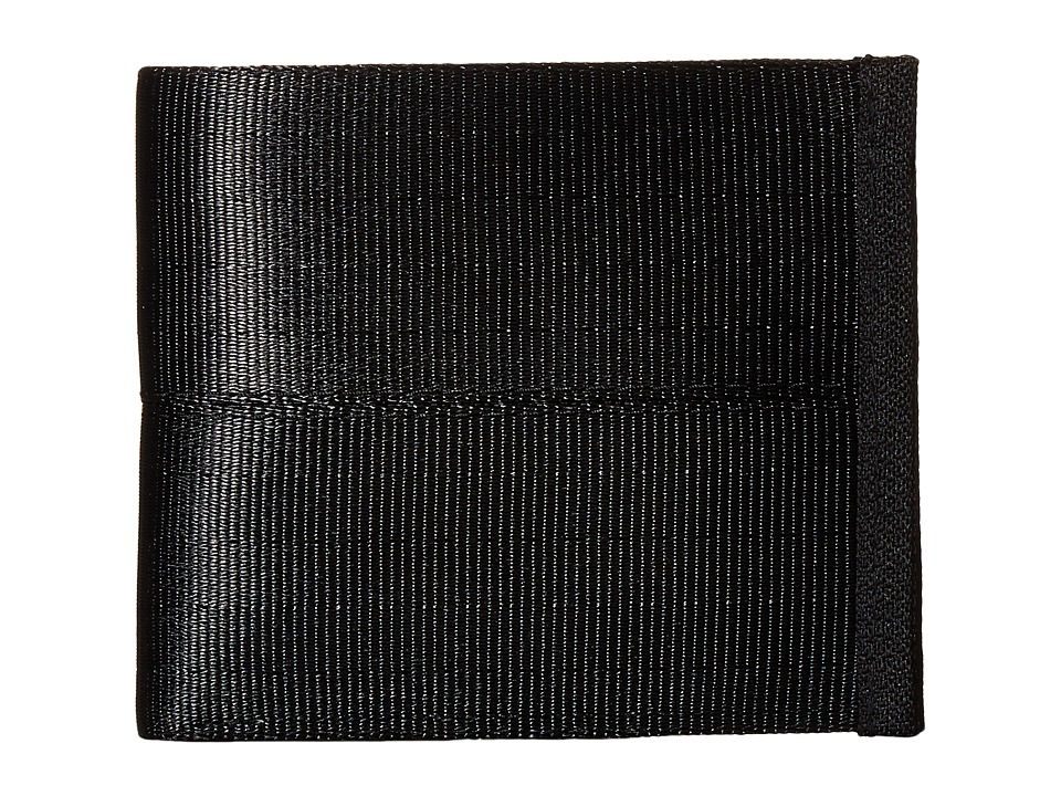 Harveys Seatbelt Bag - Boyfriend Wallet (Salvage Black) Handbags