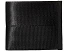 Harveys Seatbelt Bag Boyfriend Wallet (Salvage Black)