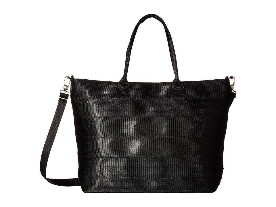 Harveys Seatbelt Bag - Medium Streamline Tote (Black) Tote Handbags