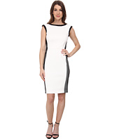 Calvin Klein - Scuba Dress w/ Mesh