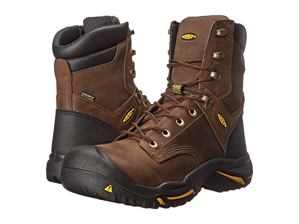 Keen Utility - MT Vernon (Cascade Brown) Men's Industrial Shoes