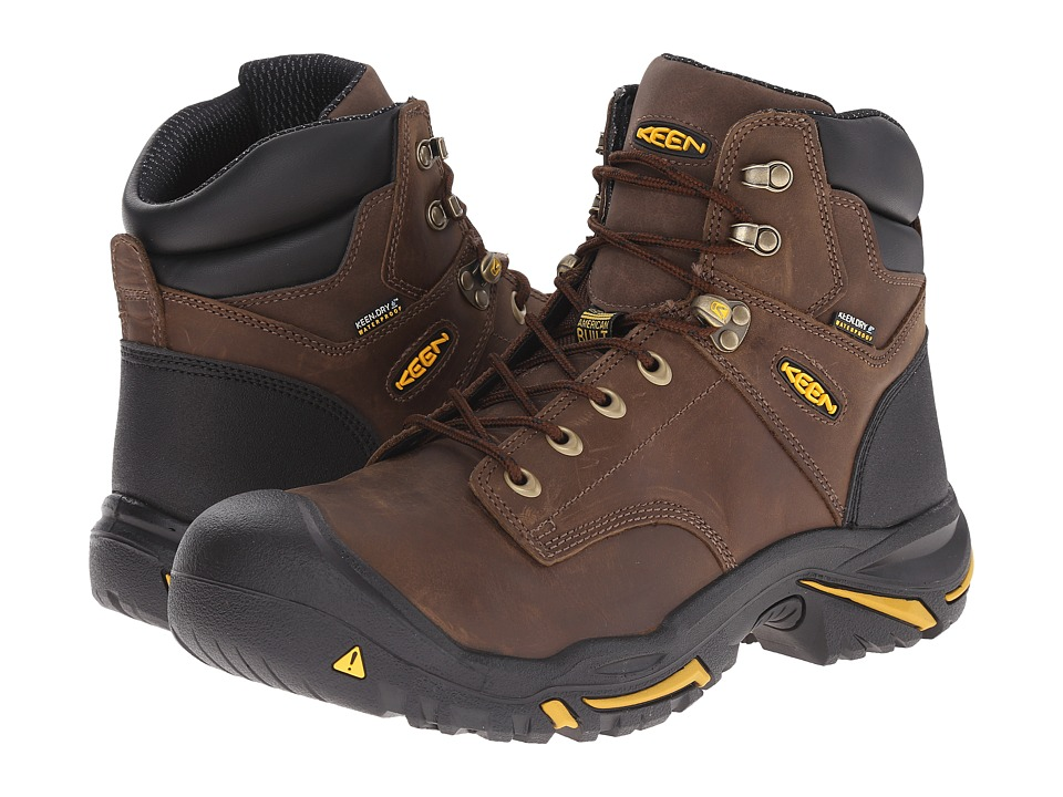 Keen Utility - MT Vernon Mid (Cascade Brown) Men's Industrial Shoes