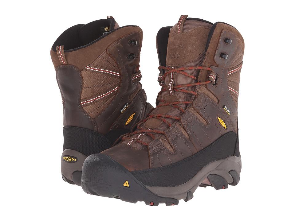 Keen Utility - Minot 600g (Cascade Brown/Bossa Nova) Mens Industrial Shoes