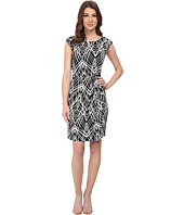 Calvin Klein - Side Ruched Dress w/ Hardware