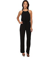 Calvin Klein - Solid Halter Jumpsuit w/ Buckle