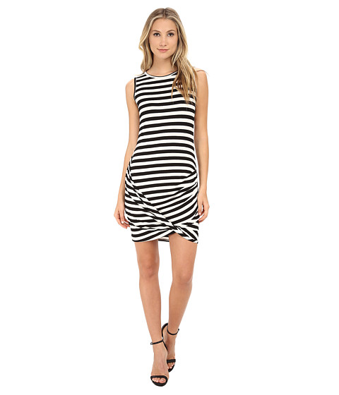 Trina Turk - Adriana Dress (Black/White) Women's Dress