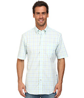 Nautica - Short Sleeve Wrinkle Resistant Large Plaid