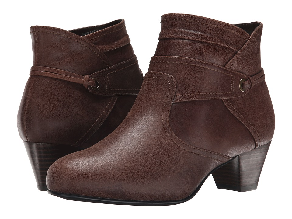 David Tate Campus (Brown Leather) Women