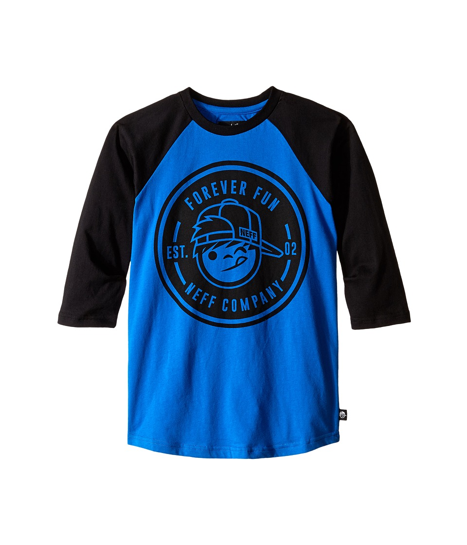 Neff Kids Emblem Raglan Big Kids Cyan Boys Clothing