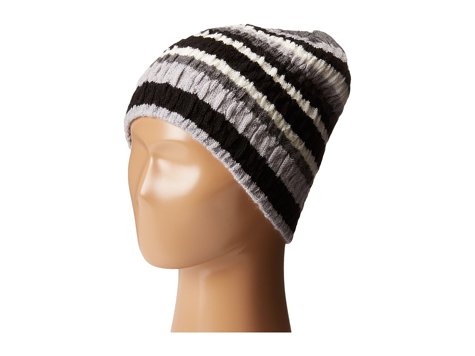 Smartwool Striped Chevron Hat Light Grey Heather Cold Weather Hats