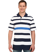 Nautica Big & Tall - Big & Tall Short Sleeve New Stripe Polo Shirt