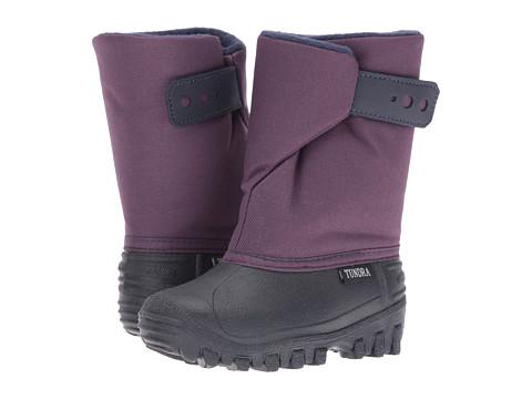 Tundra Boots Kids Teddy (Toddler/Little Kid) - Navy/Plum