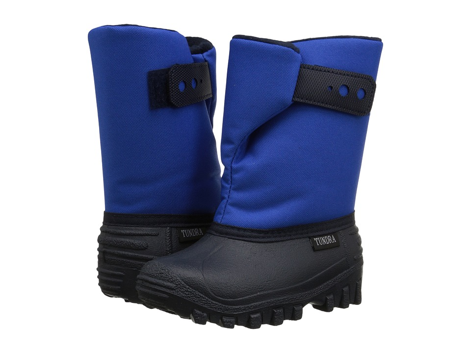Tundra Boots Kids Teddy (Toddler/Little Kid) (Royal Blue) Boys Shoes