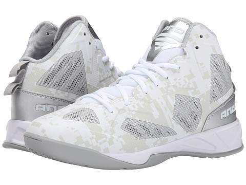 AND1 Xcelerate 2 - White/Silver/White