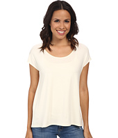 Three Dots - Cap Sleeve Relaxed Tee