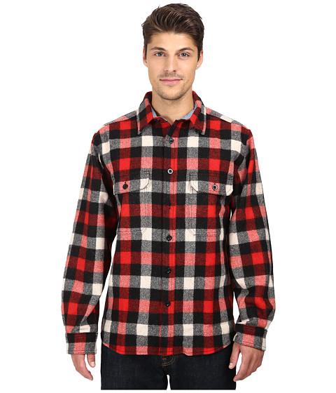 Woolrich Wool Buffalo Shirt - Red/White/Black Plaid