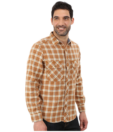 Woolrich miners wash flannel shirt chicory check for How to wash flannel shirts