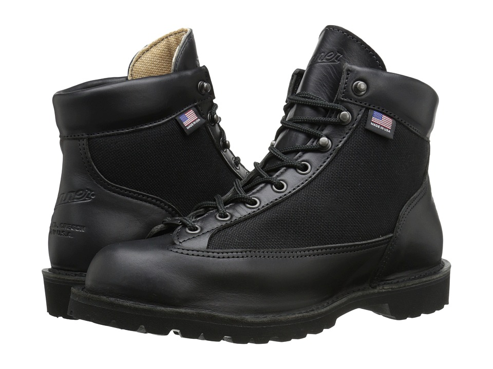 Danner Danner Light Black Glace Mens Work Boots