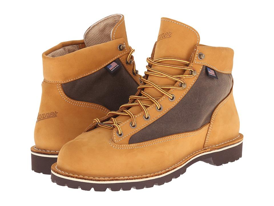 Danner Danner Light Waterbuck Yellow Mens Work Boots