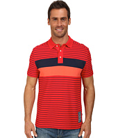Nautica - Short Sleeve Pieced Polo