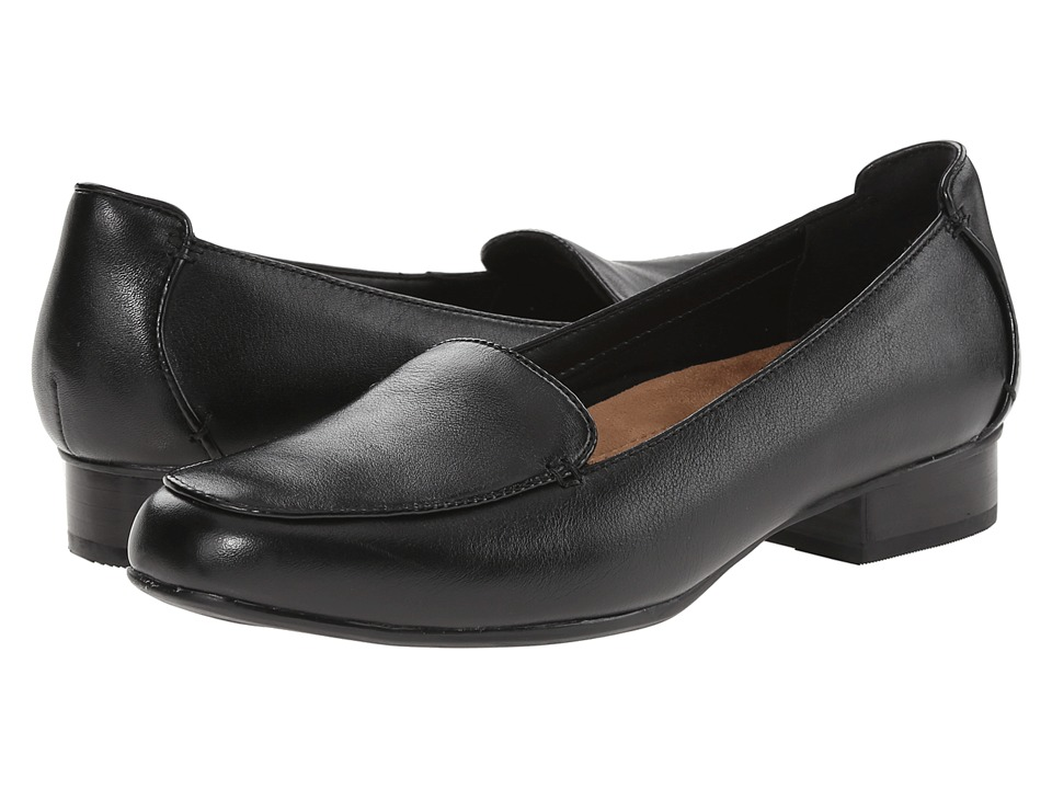 Clarks Keesha Luca (Black Leather) 1-2 inch heel Shoes