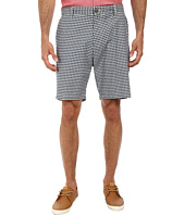 Nautica - Yarn Dye Flat Front Plaid Shorts