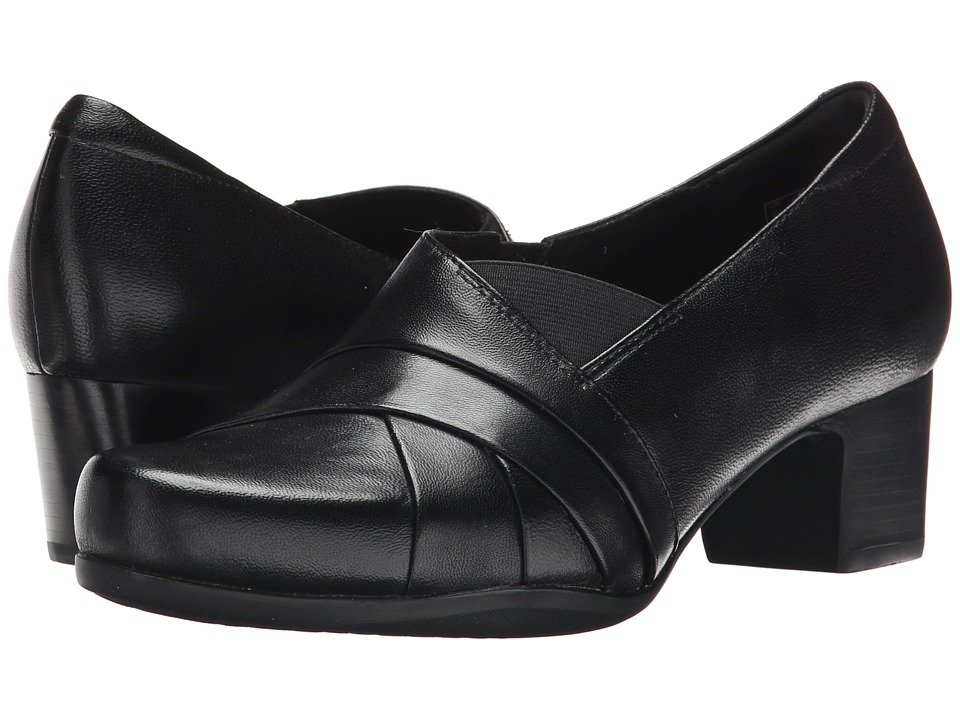 Clarks Rosalyn Adele (Black Leather) High Heels