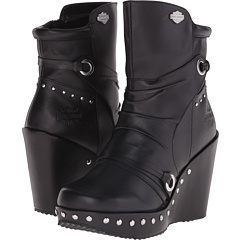 Image of Harley-Davidson - Kendra (Black) Women's Dress Pull-on Boots