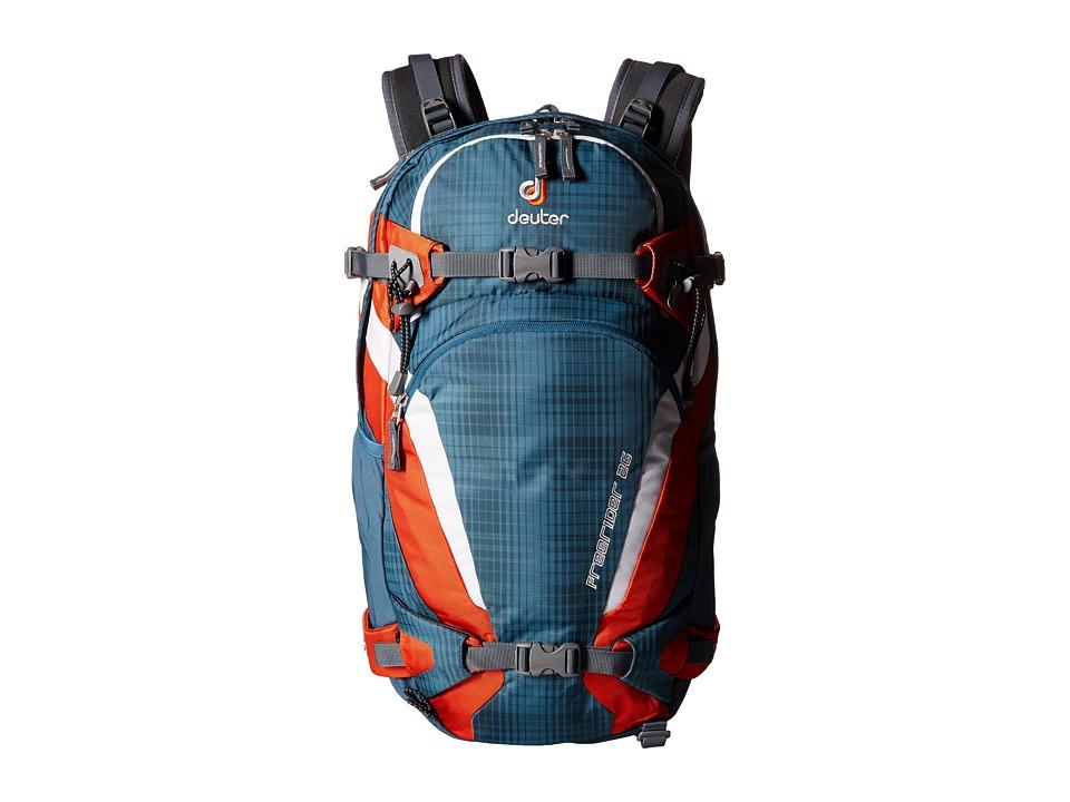 Deuter Freerider 26 Arctic/Papaya Backpack Bags