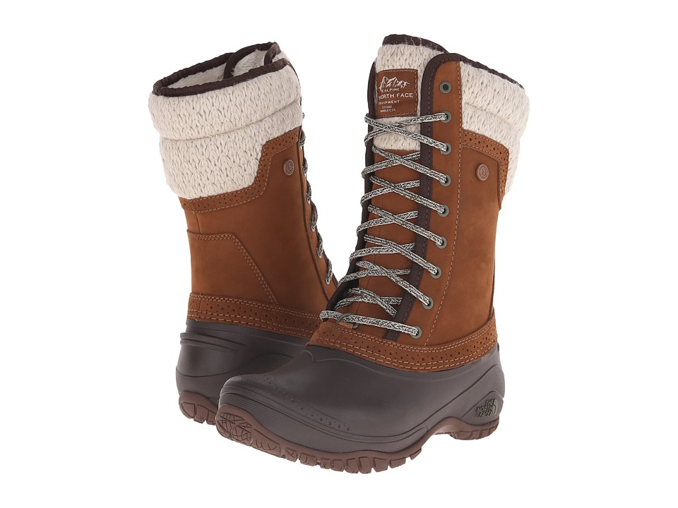 North Face Shellista II Mid (Dachshund Brown/Demitasse Br...