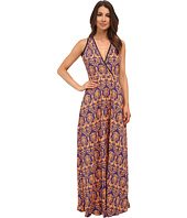 KAS New York - Wafa Crossbody Printed Maxi Dress
