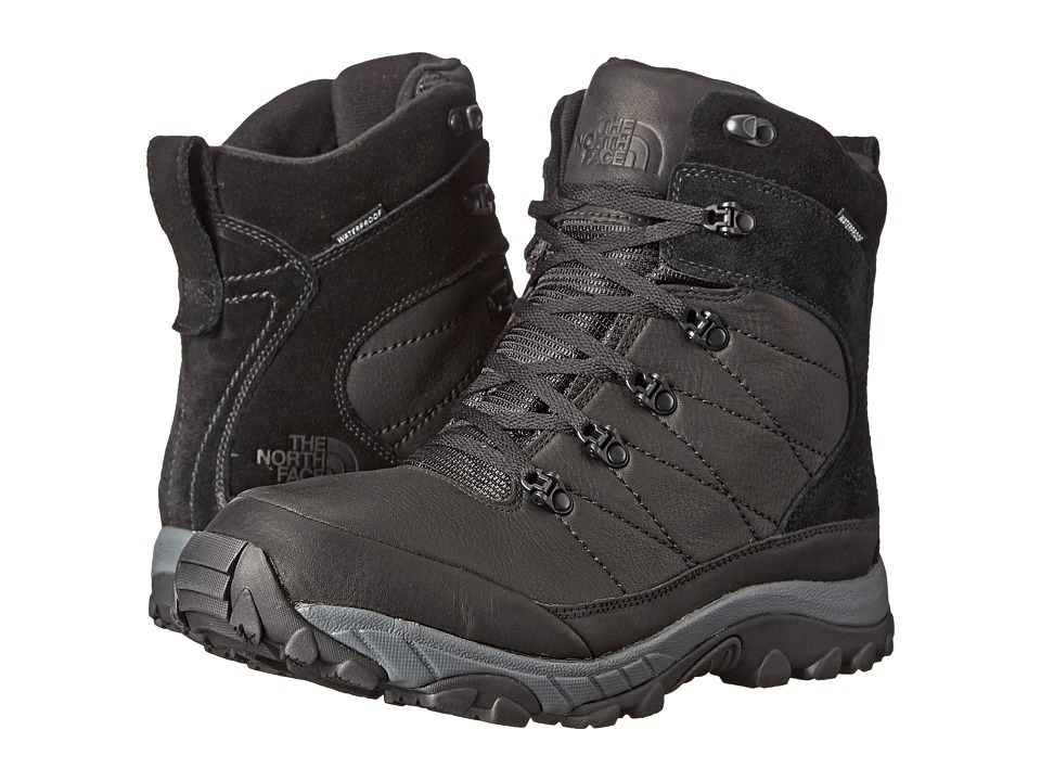 The North Face Chilkat Leather Insulated (TNF Black/TNF Black) Men