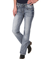 Rock and Roll Cowgirl - Mid Rise Bootcut in Light Vintage W1-2462