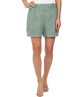 TWO by Vince Camuto - Diamond Rhythm Ruched Culotte Shorts