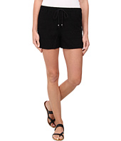TWO by Vince Camuto - Embroidered Mesh Drawstring Shorts