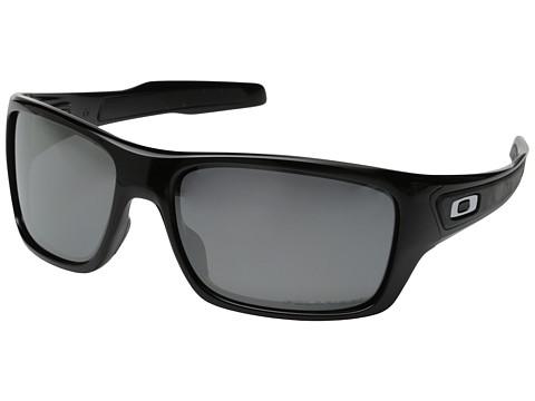 Oakley Turbine - Polished Black/Black Iridium Polarized
