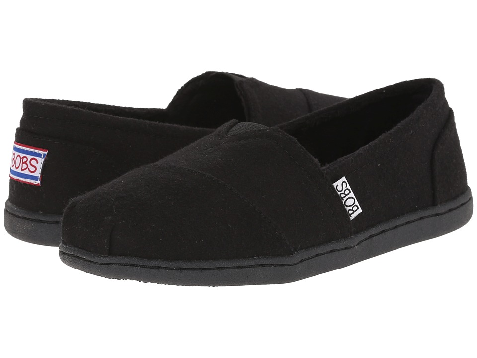 BOBS from SKECHERS Bobs Bliss Hot Cocoa Black Womens Slip on Shoes