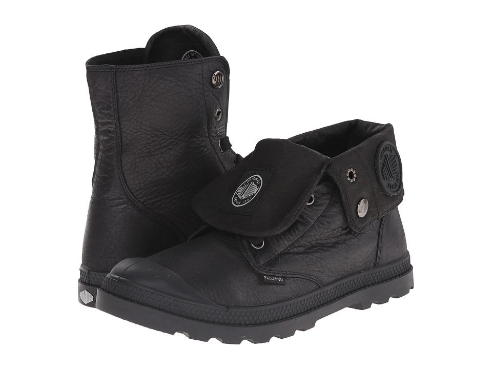 Palladium Baggy Lea Low LP Black Womens Boots
