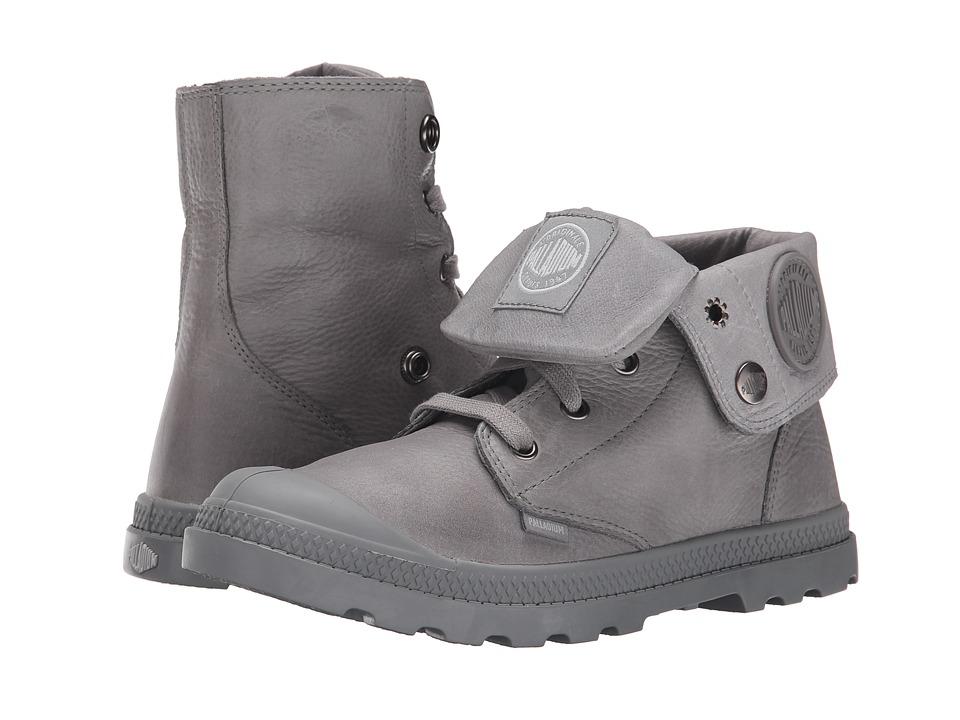Palladium Baggy Lea Low LP Titanium Womens Boots