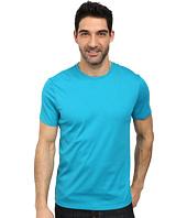 Calvin Klein - Jersey w/ Rib Short Sleeve Tee