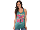 Gypsy SOULE Go Forward with Courage Top (Teal)